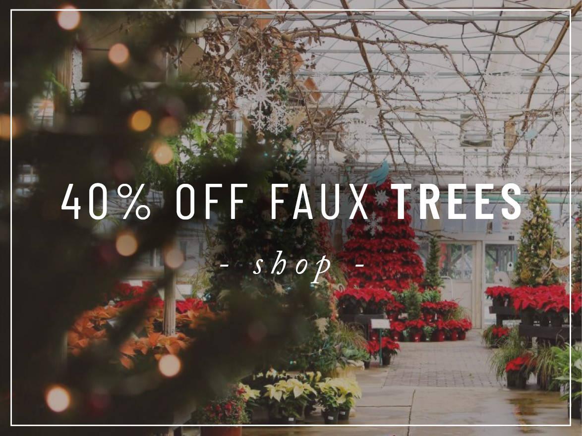 Shop Faux Trees