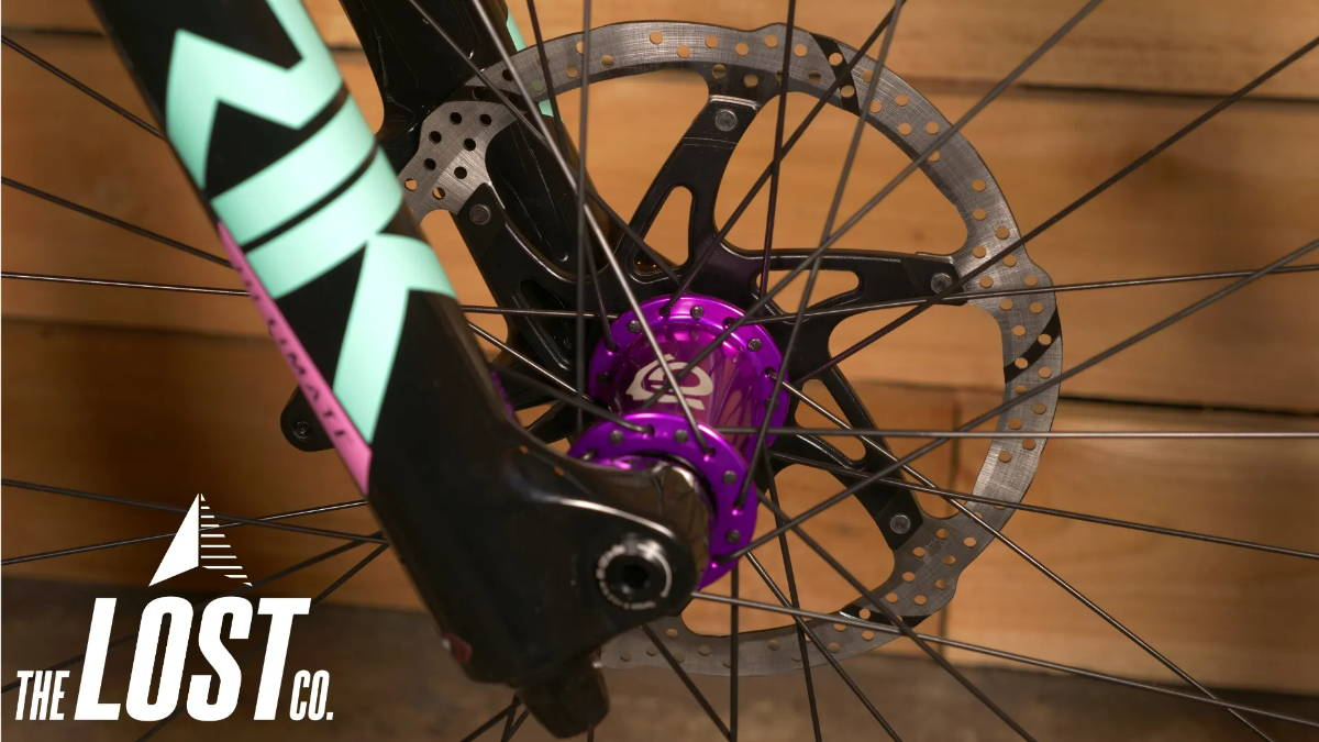 rockshox lyrik ultimate series rc2 damper industry nine hydra purple i9 hubs