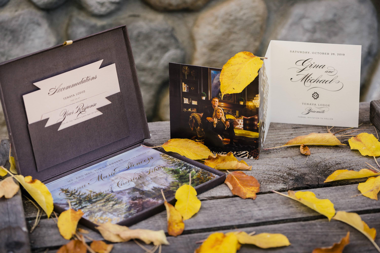 Yosemite Wedding Invitation Suite