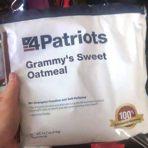The reviews on this survival food kit supply from 4Patriots are incredible
