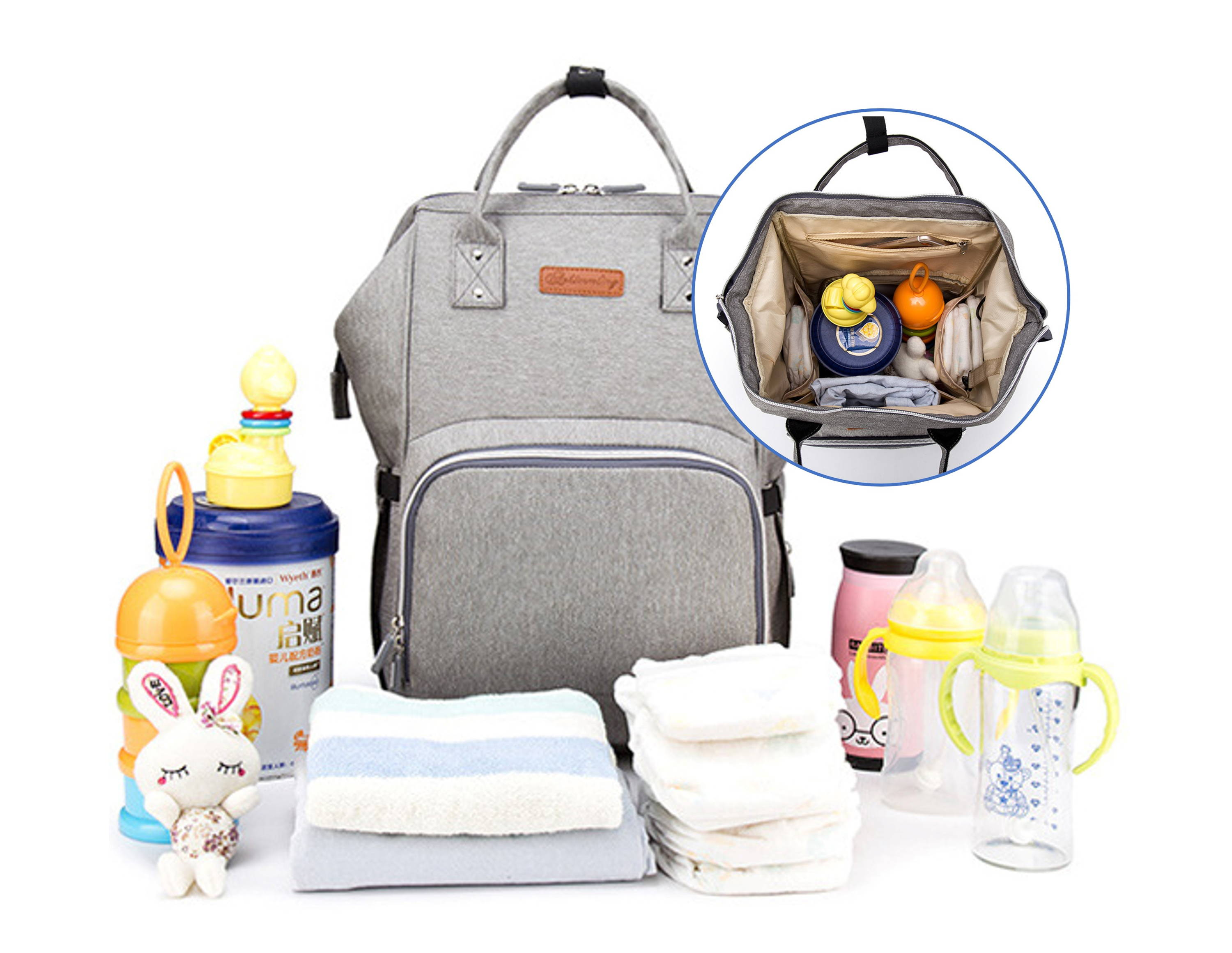 0fc0248e412 Very spacious interior and conveniently placed and sized compartments allow  to carry everything you need, and then some. And with the unique