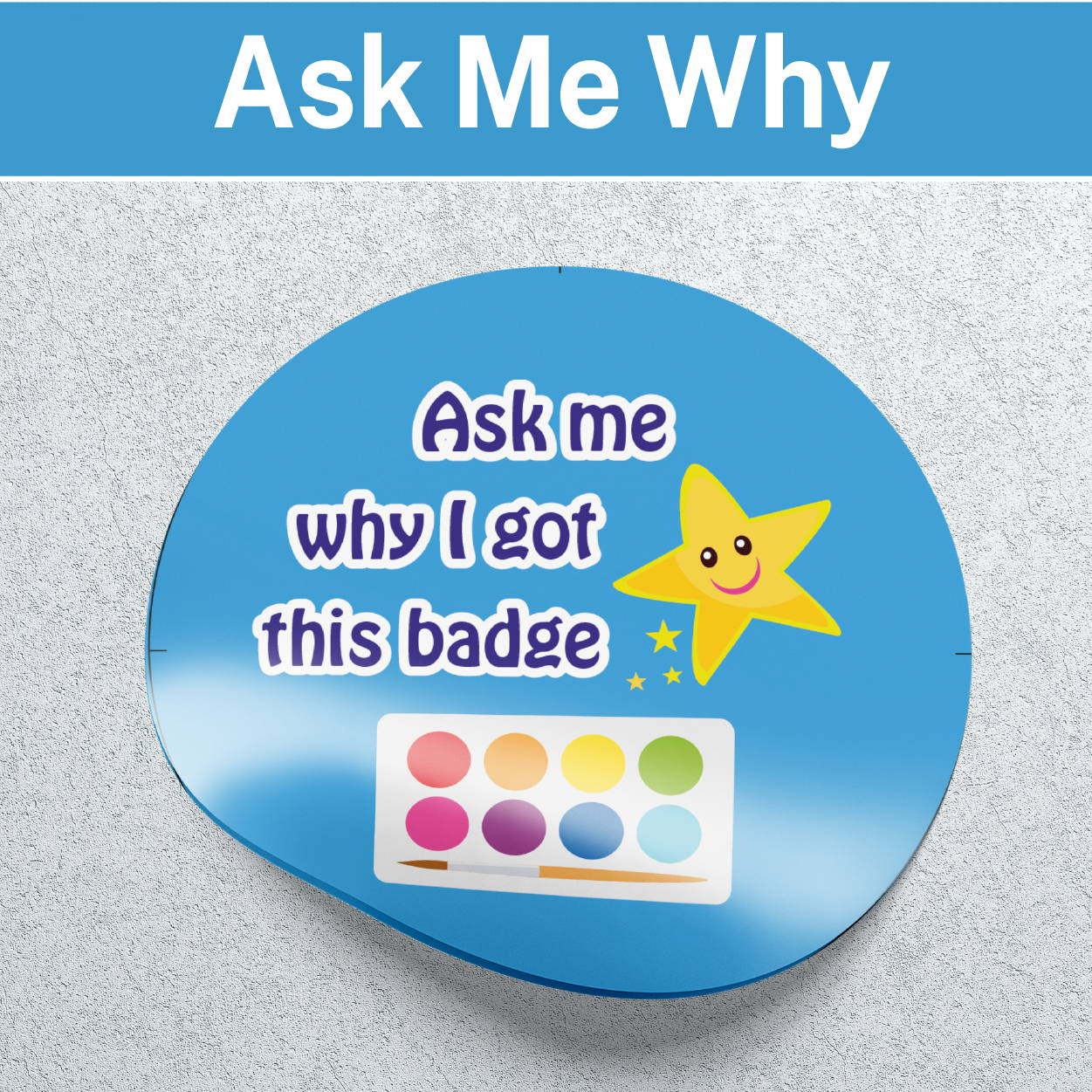 Ask me why Stickers