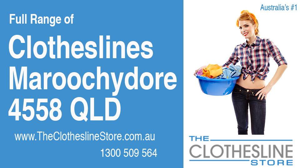New Clotheslines in Maroochydore Queensland 4558