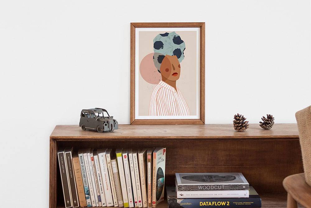 art prints and framed art