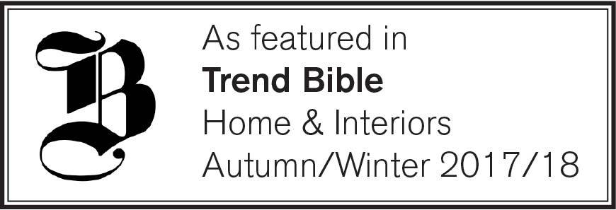 BeFab Be Creative as featured in Trend Bible Home & Interiors Autumn/Winter 2017/18