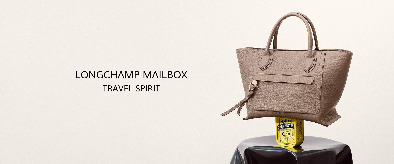 Longchamp Mailbox, Travel Spirit