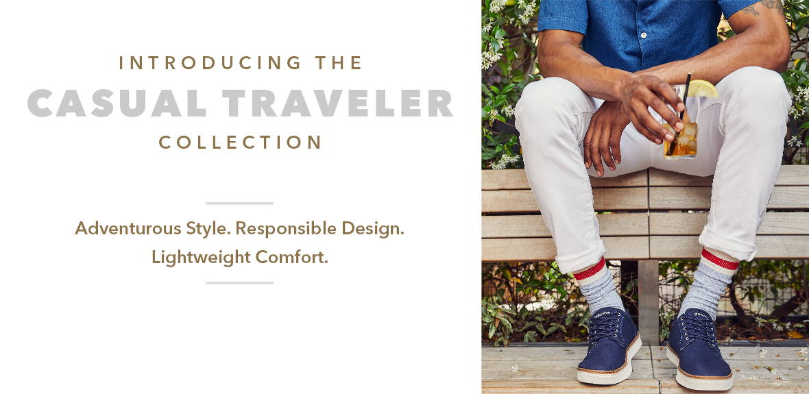 Introducing the casual traveler collection