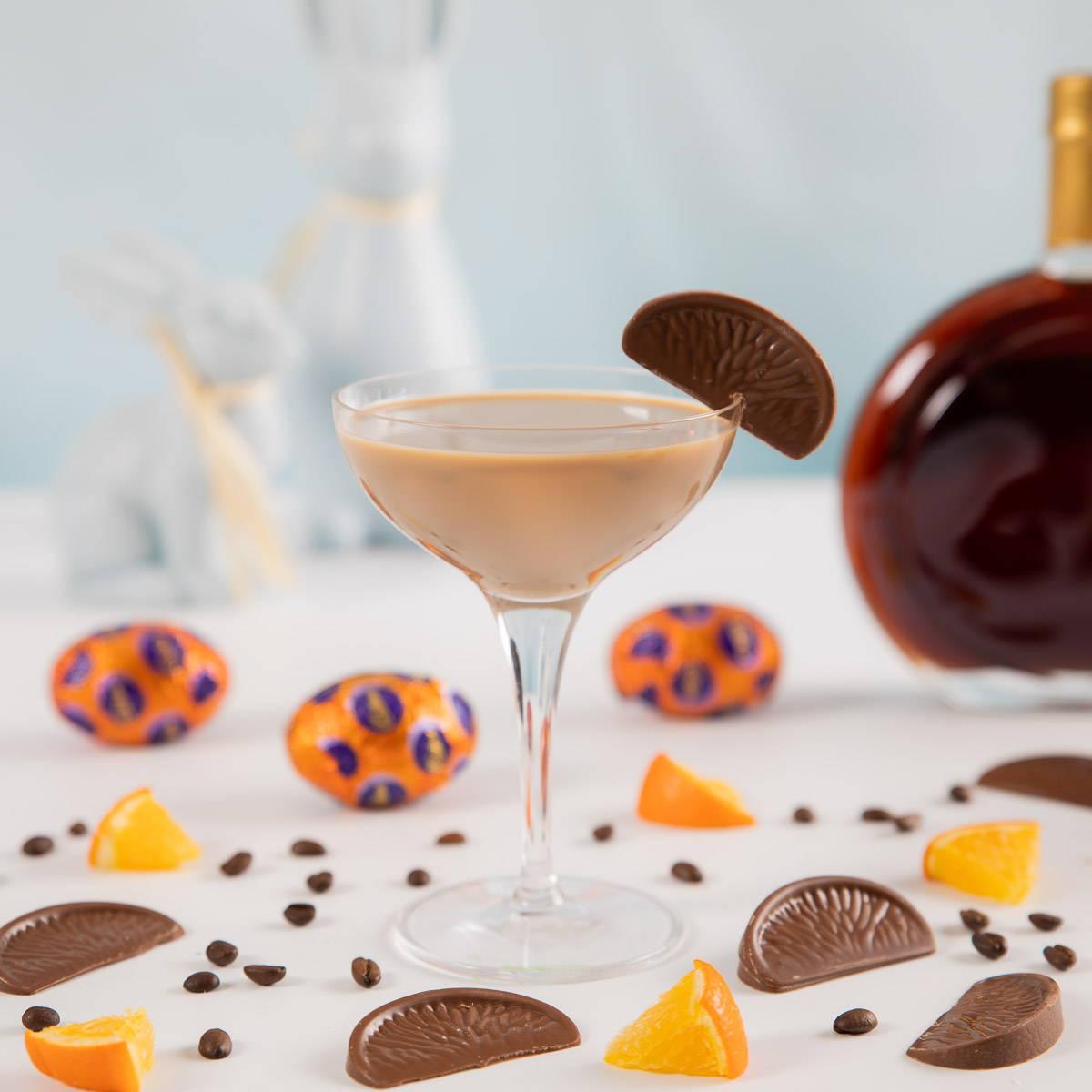 Chocolate Orange Espresso Martini - Flaschengeist