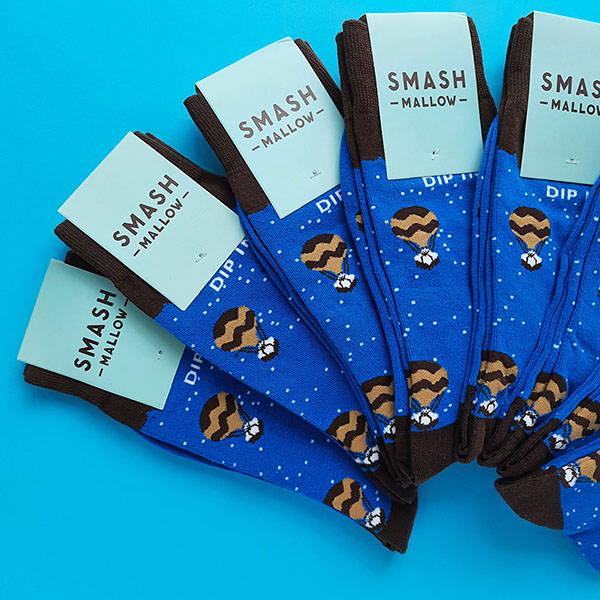 custom socks for smashmallow