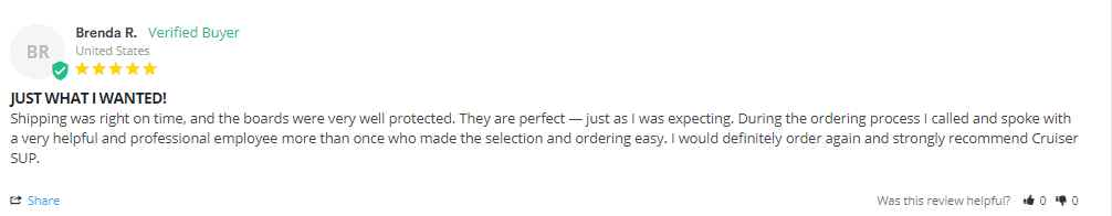 SUP Reviews