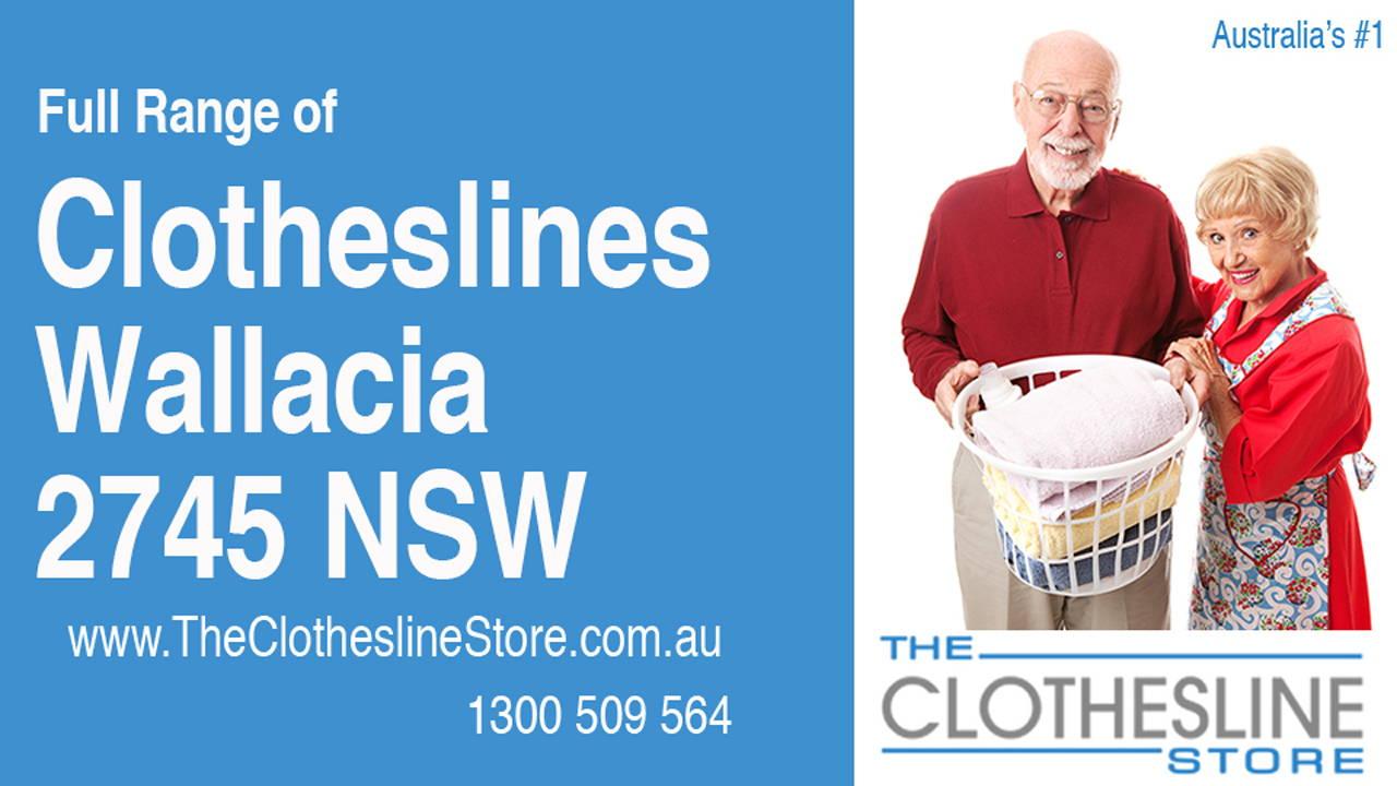 New Clotheslines in Wallacia 2745 NSW