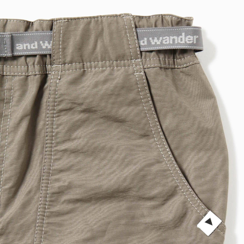 andwander(アンドワンダー)/60/40クロスリブパンツ/ブルー/UNISEX