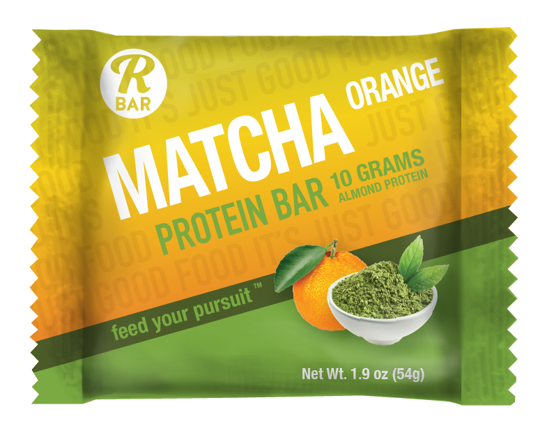 Matcha Orange Protein Bar