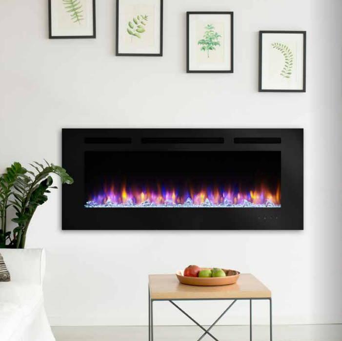SimpliFire Allusion 60 electric fireplace