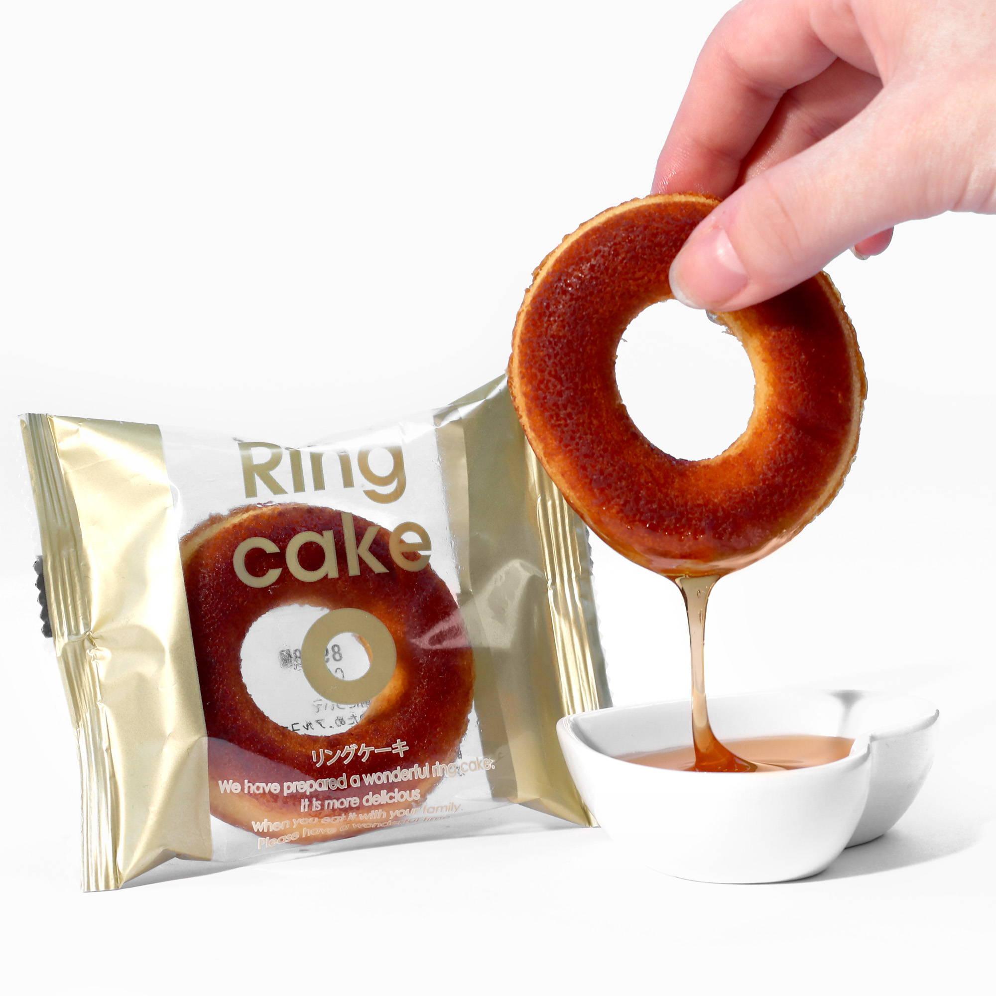 Yokohama Caramel Ring Cake
