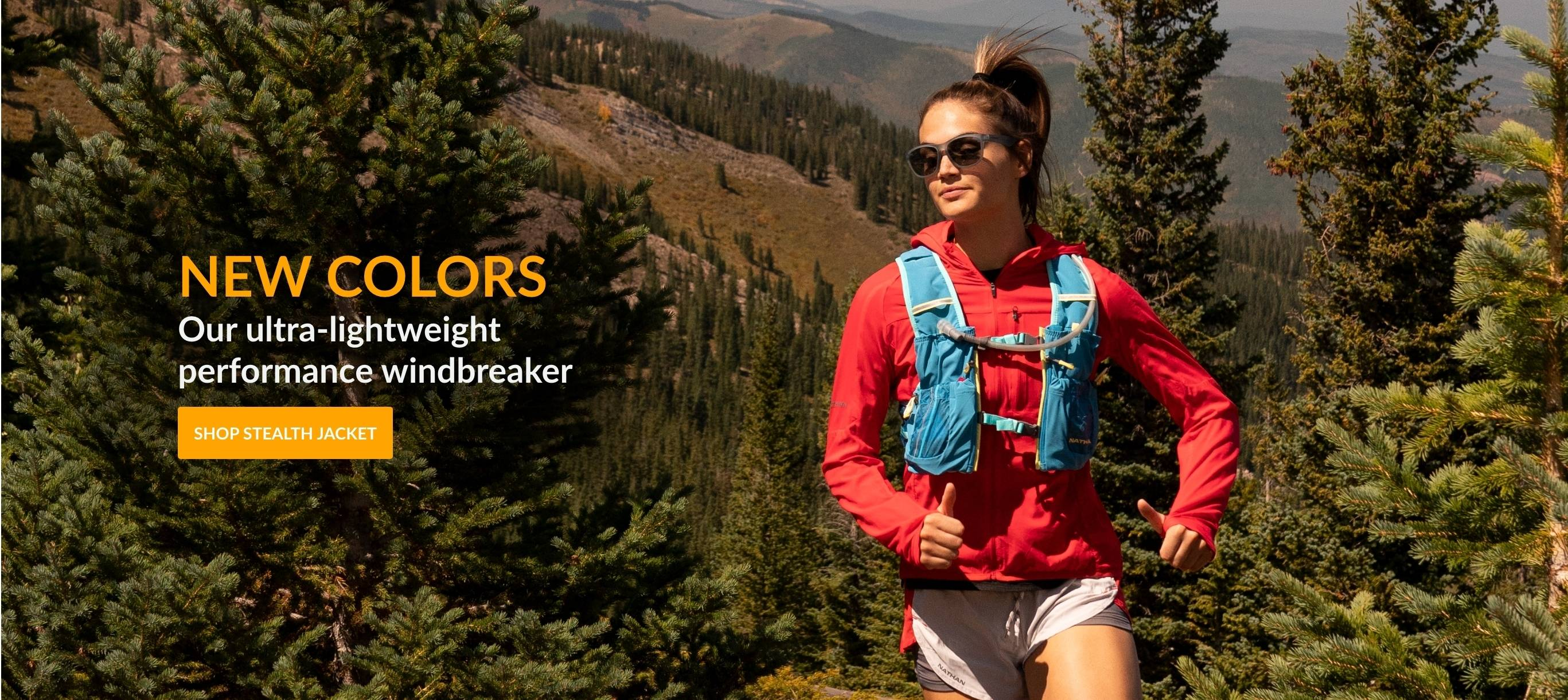 New Colors Our ultra-lightweight performance windbreaker