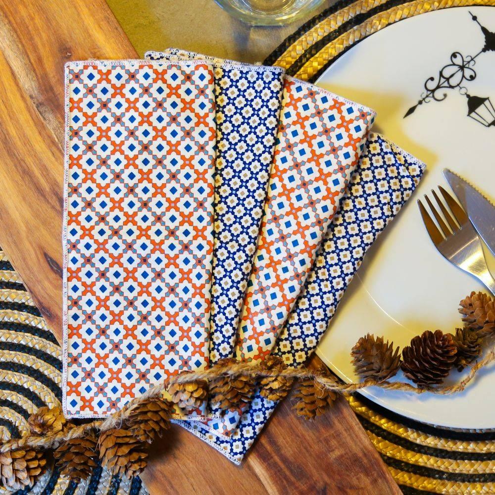 Les serviettes de table écologiques - Alterosac