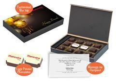 Diwali gifts for corporates (12 Chocolates - 100 Box)