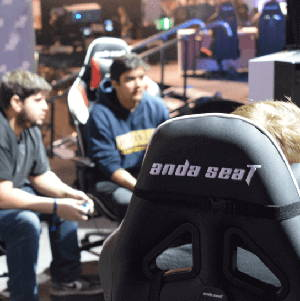 Gaming event sponsored by Anda Seat