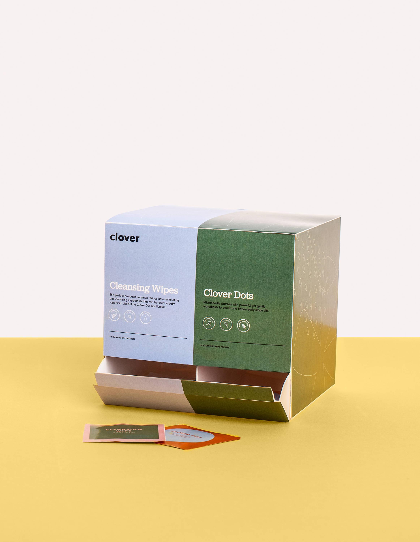 clover's single zit removal dot pack