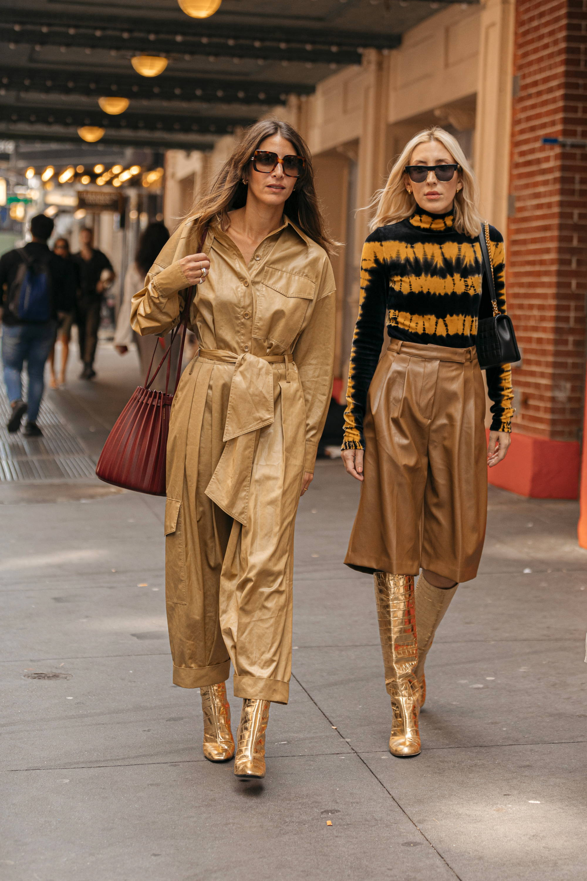 Spring 2020 street style image.