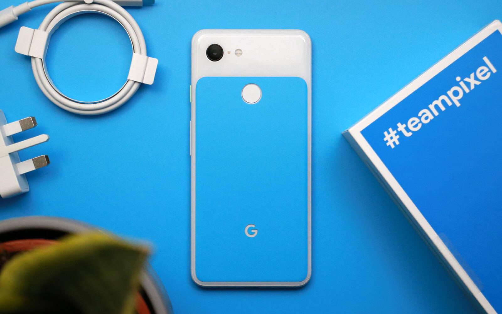 Google Pixel 3 Matt Blue Skins