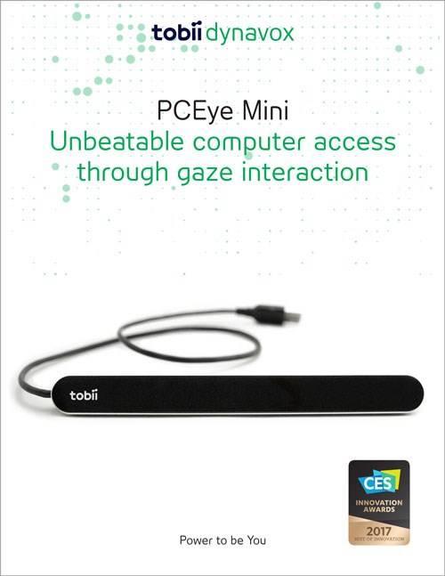 PCEye Mini brochure cover