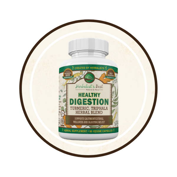 Healthy Digestion Bullet icon  Herbalist's Best