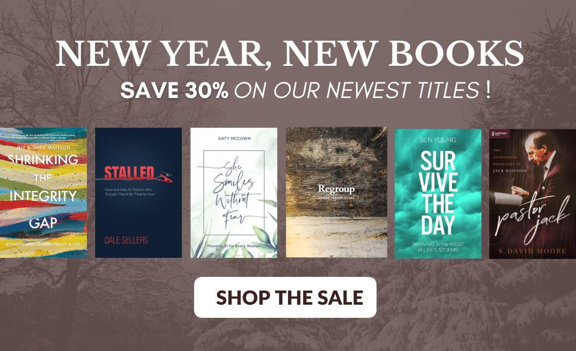 New Christian Books for men, women and pastors on sale