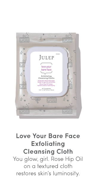 Love Your Bare Face - Exfoliating Cleansing Cloth