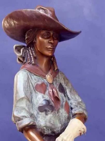 SStar Liana York. Star York. Western Bronze. Bronze Sculpture.modern western art. . Sorrel Sky Gallery. Durango Art Gallery. Santa Fe Art Gallery.