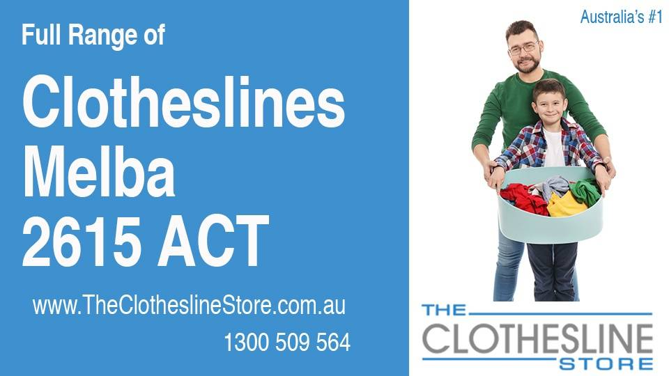 New Clotheslines in Melba ACT 2615