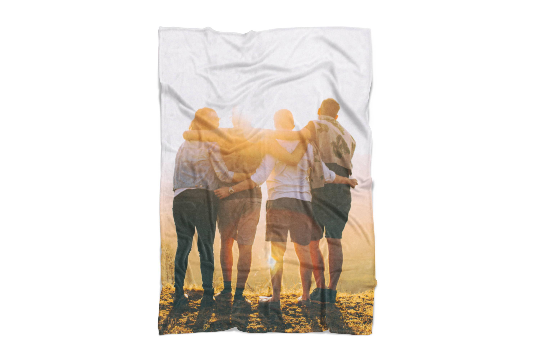 Friends on Blanket