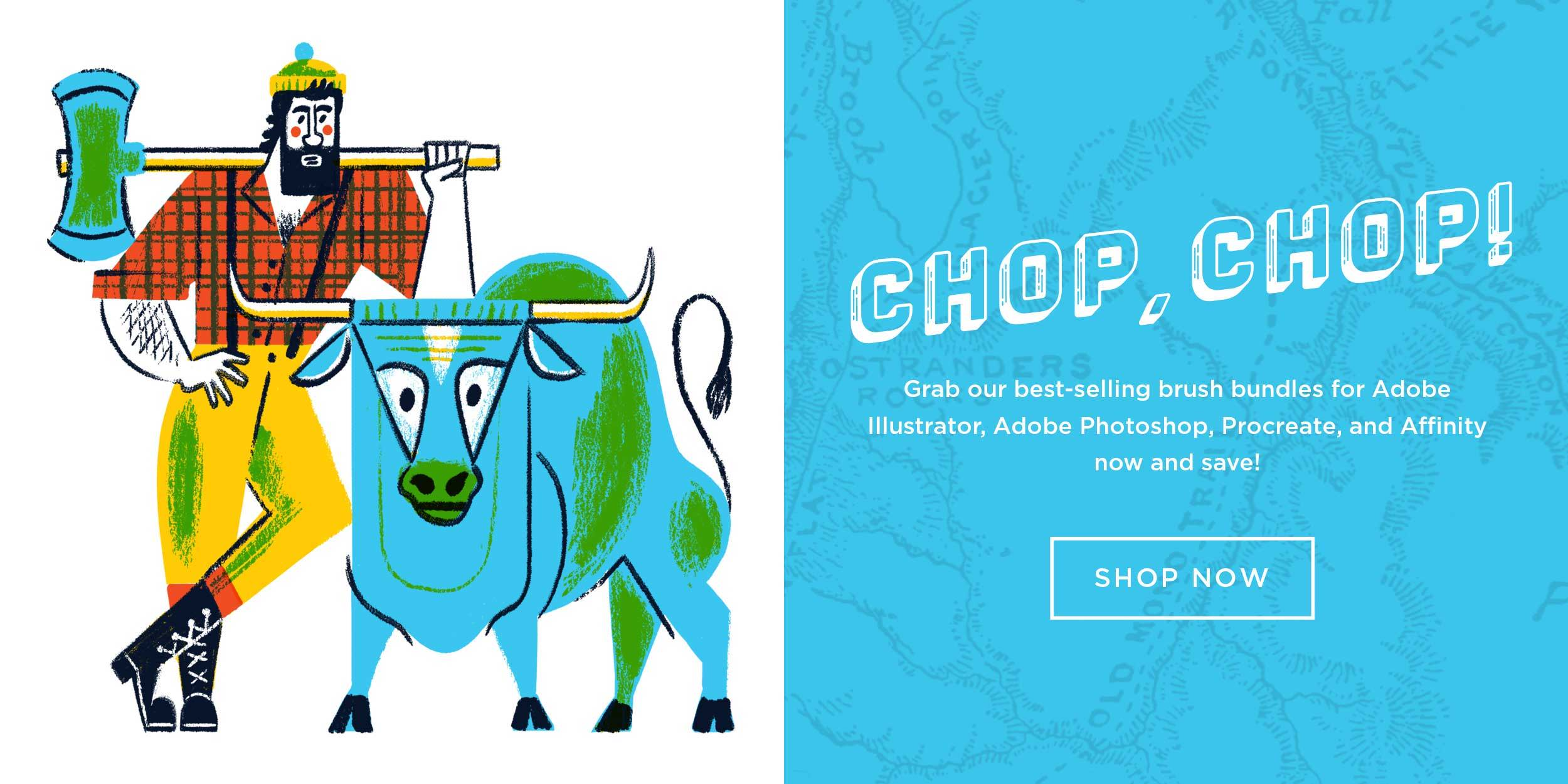 RetroSupply Brushes for Illustrators and Designers