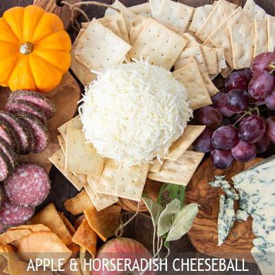 The Nut House Apple Horseradish Cheeseball