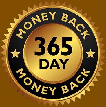1 Year Money Back Guarantee
