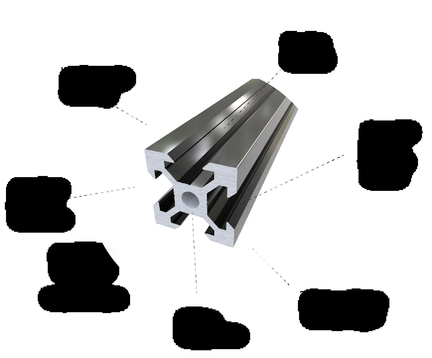 V-Slot® 20x20 Linear Rail
