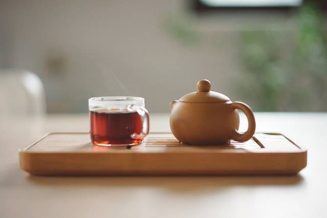 Cup Of Tea And Pot