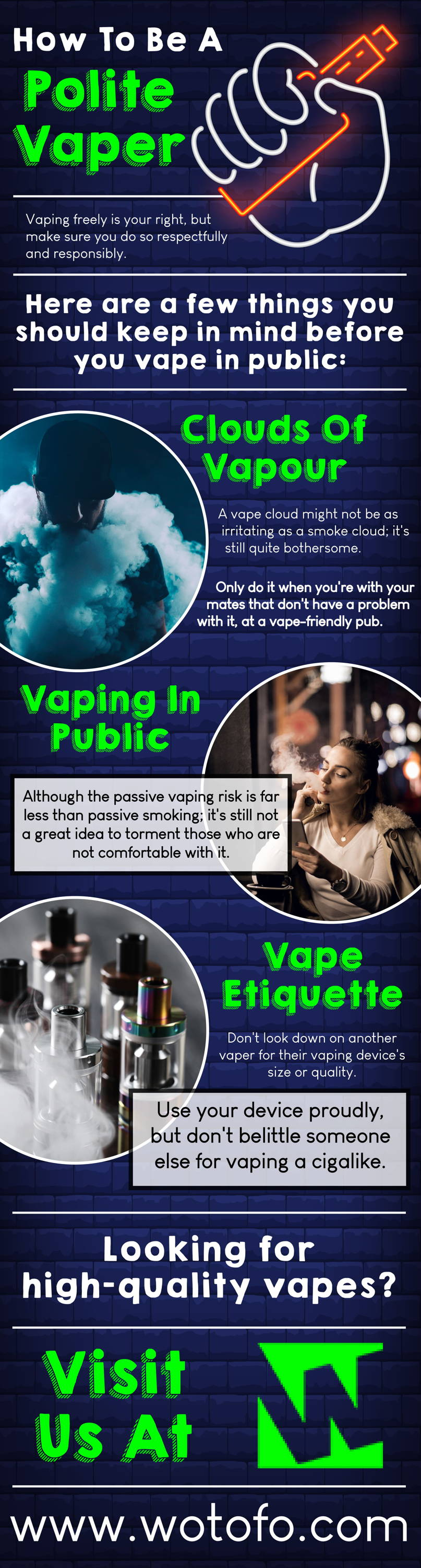 How To Be A Polite Vaper