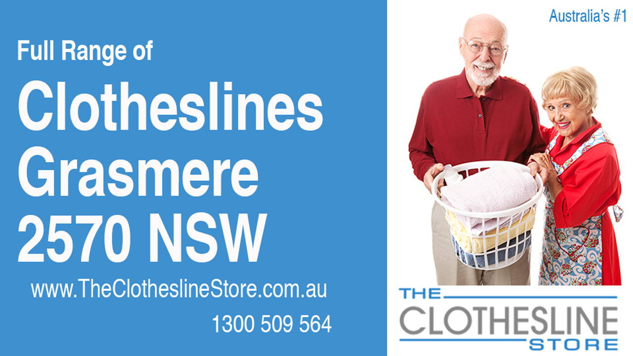 New Clotheslines in Grasmere 2570 NSW