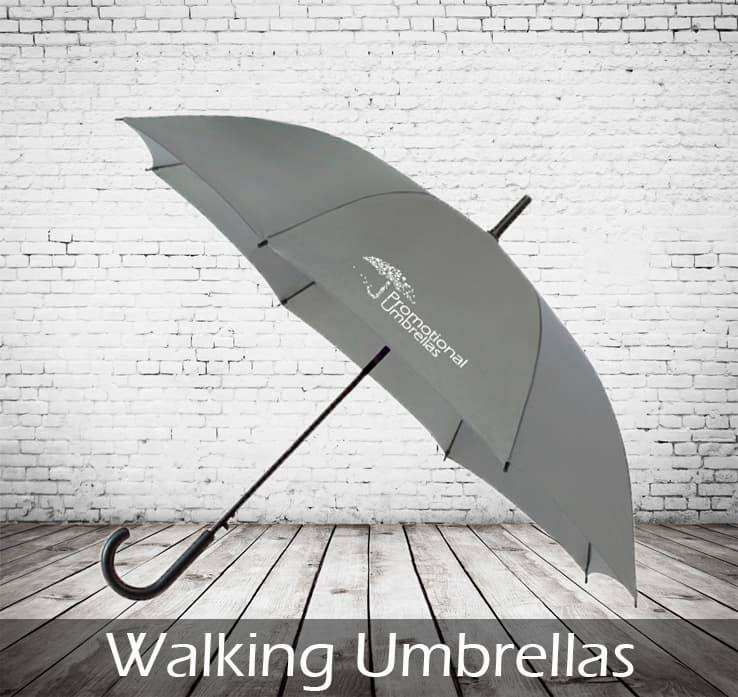 Printed Walking Umbrellas