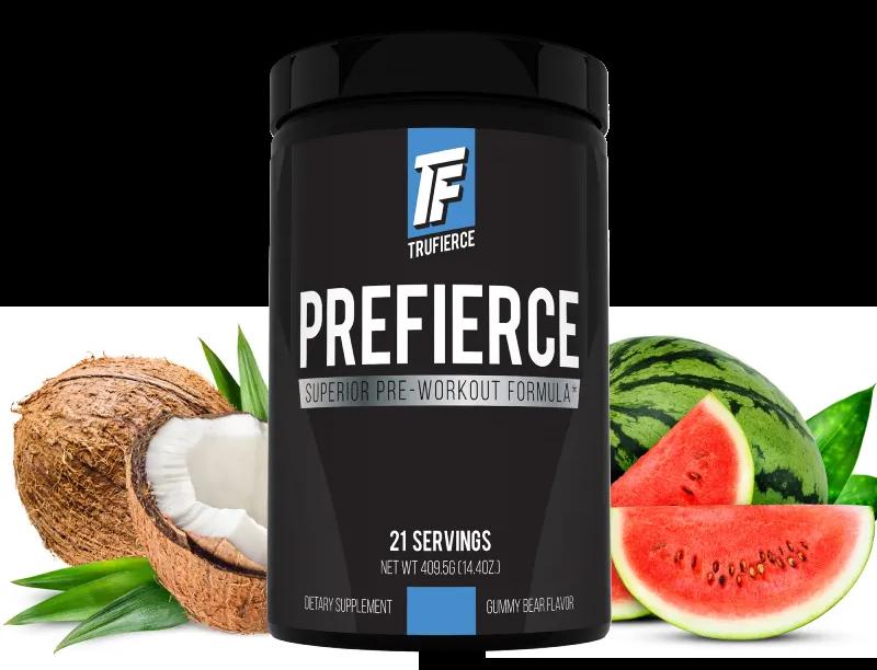 prefierce pre-workout by trufierce