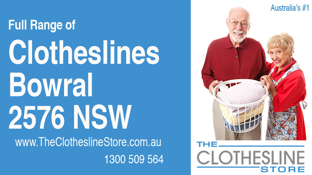 New Clotheslines in Bowral 2576 NSW