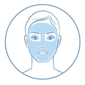 Image of someone using a collagen/cell boosting product