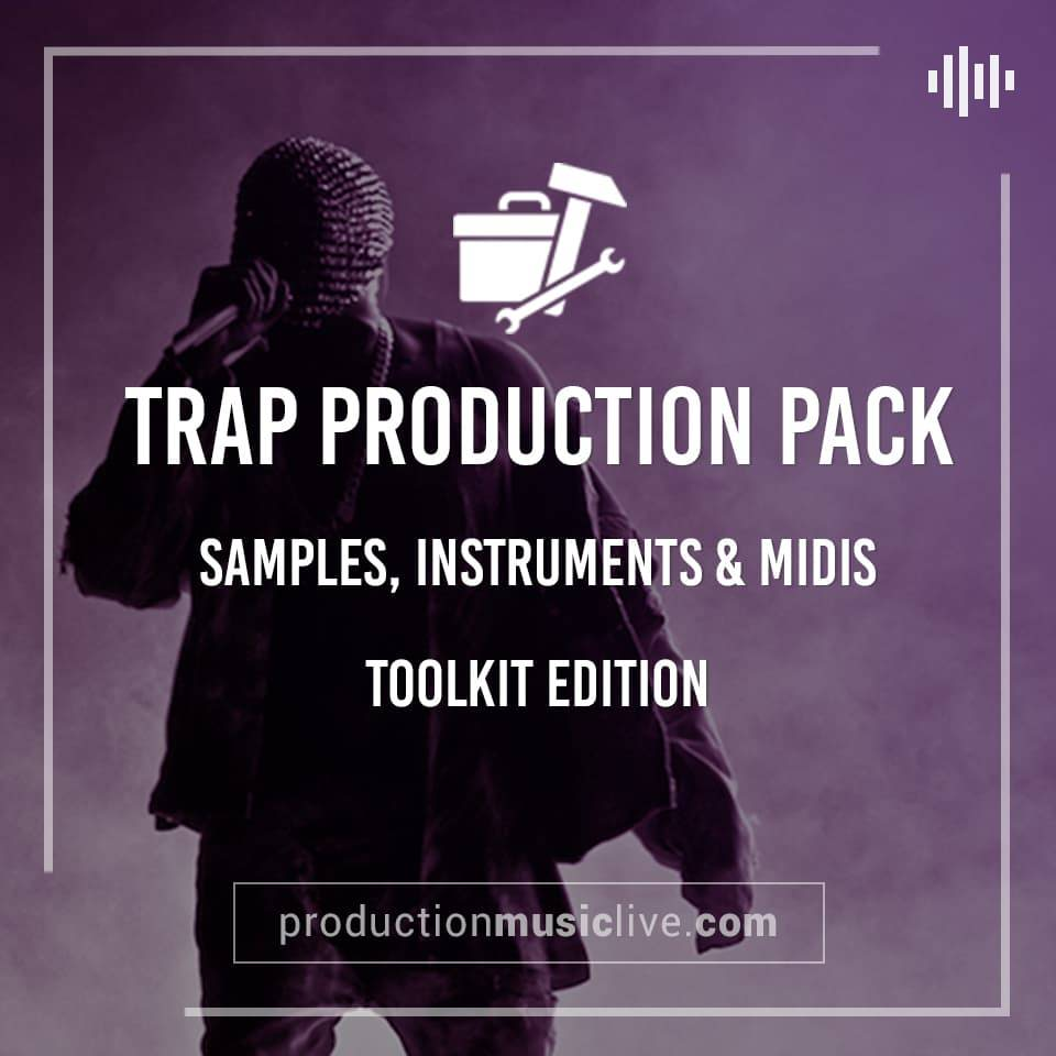 Trap Production Pack - Samples, Instruments, Midis, Drum Kits