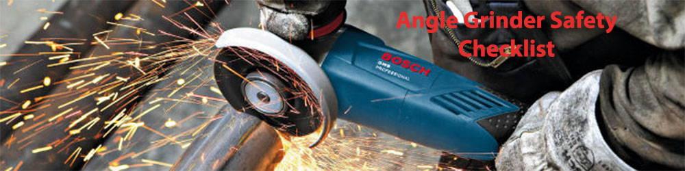 grinder safety checklist