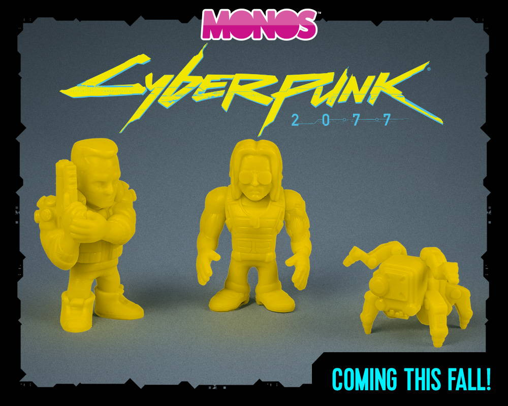 Coming This Fall: A collection of Cyberpunk 2077 toys