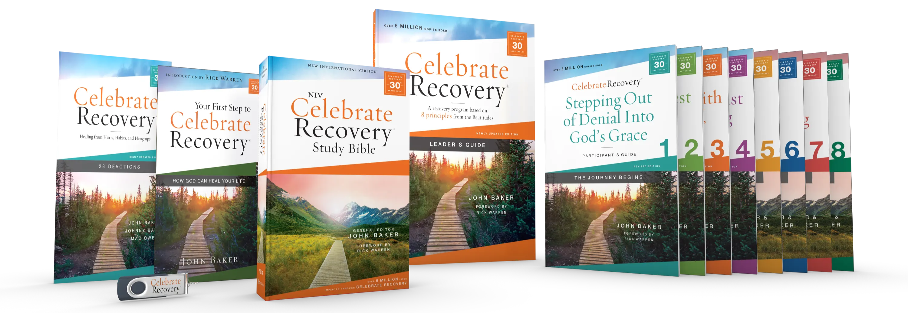 Celebrate Recovery offers a Christ-centered 12-step program based on the Beatitudes to help people overcome their hurts, habits, and hang-ups