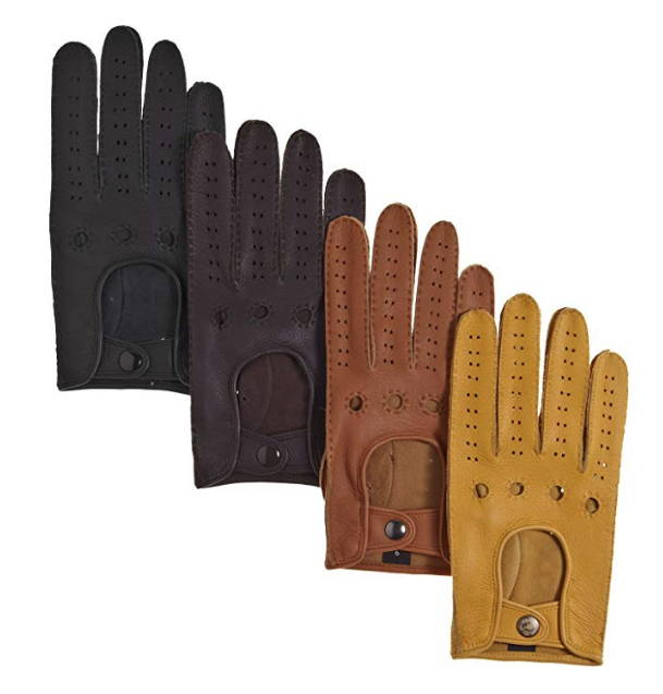 driving gloves are the perfect gifts for car lover boyfriend