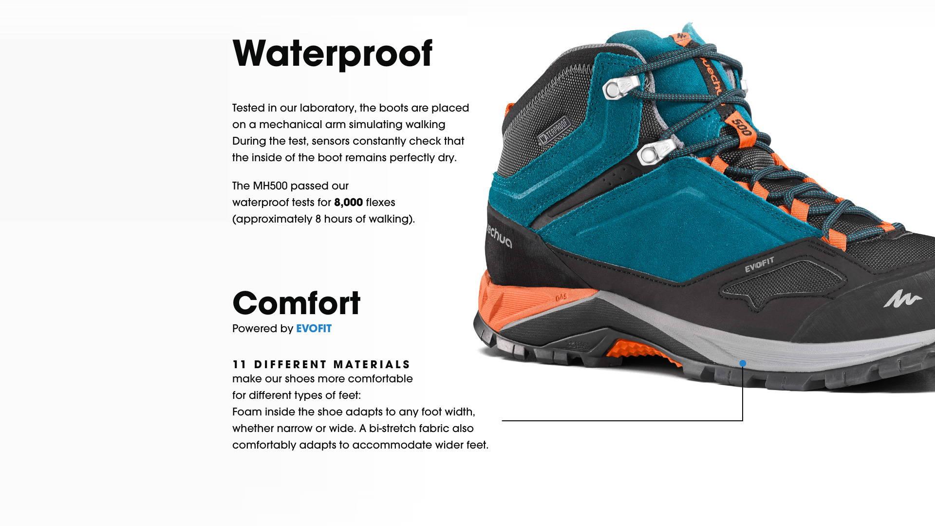 Waterproof & Comfort